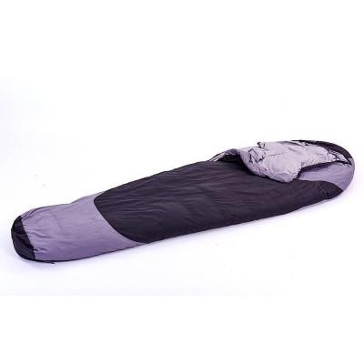 Спальный мешок кокон утиный пух 1700г/м2, 215х78см, t от -20 до 0