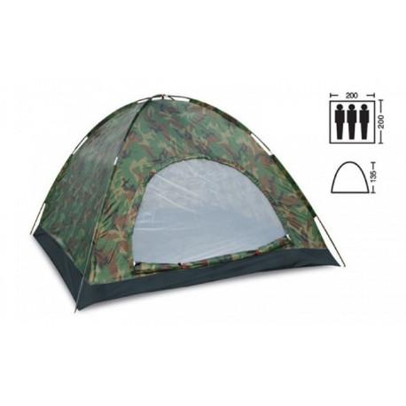 Палатка трехместная 2.00 х 2,00 м камуфляж T1SY011