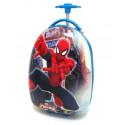 Чемодан детский пластиковый Человек паук 42 см 2 колеса