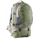Рюкзак туристический Caribee Jet pack 75 Mantis нижний вход серо-зеленый