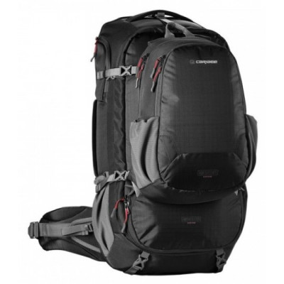 Рюкзак туристический Caribee Magellan 65 RFID нижний вход черный