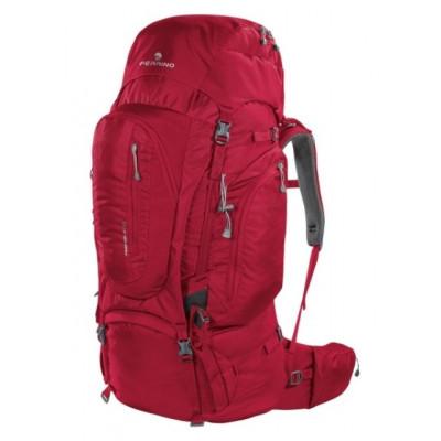 Рюкзак туристический Ferrino Transalp 60 нижний вход бордовый
