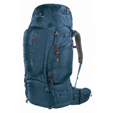 Рюкзак туристический Ferrino Transalp 100 нижний вход темно-синий