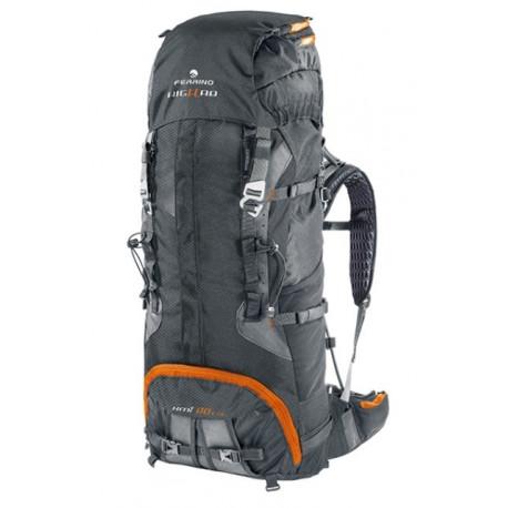 Рюкзак туристический Ferrino XMT 90 нижний вход черный