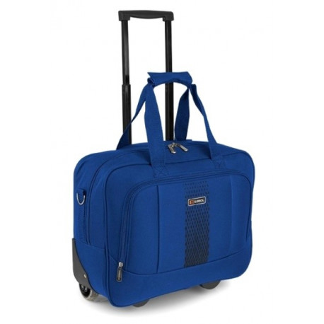 af0cb8af935a Сумка дорожная на колесах Gabol Roll Pilot 24 л малая синяя - Travel Bag