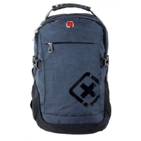 Рюкзак спортивный SWISSGEAR 7699 30л 44x32x17 черно-синий