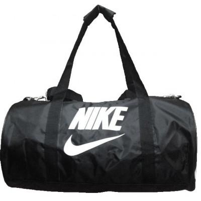 Сумка спортивная Nike круглая малая черная 45 см