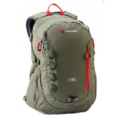 Рюкзак туристический Caribee X-Trek 28 серо-зеленый