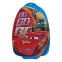 Чемодан детский пластиковый Тачки 42 см 2 колеса Bp016016