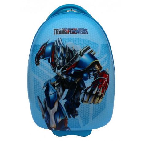 Чемодан детский пластиковый Трансформер Оптимус 42 см 2 колеса Bp218215