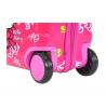Чемодан детский каталка пластиковый Китти на 4 колеса Bp7548HK
