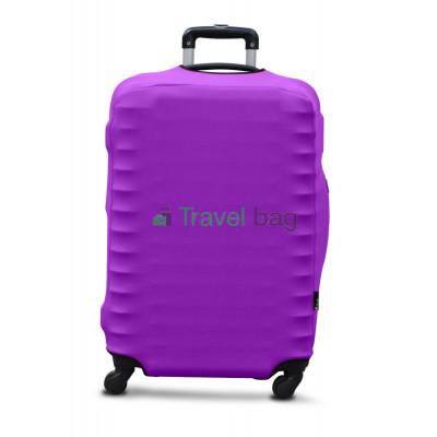 Чехол на чемодан дайвинг M фиолетовый