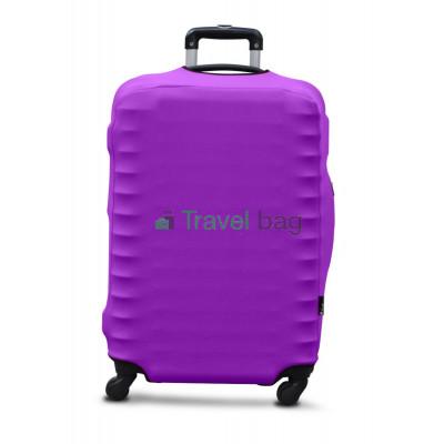 Чехол на чемодан дайвинг S фиолетовый
