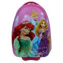 Чемодан детский пластиковый Принцессы 42 см 2 колеса BP755800