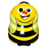 Чемодан детский пластиковый Пчелка 42 см 2 колеса
