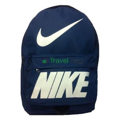 Рюкзак спортивный Nike (Найк) синий 40х30 см.