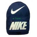 Рюкзак спортивный Nike (Найк) синий 40х30 см
