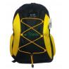 Рюкзак спортивный Uksport со шнурками черно-желтый 42х30 см