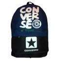 Рюкзак спортивный Converse (Конверс) черно-синий 40х30 см
