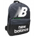 Рюкзак спортивный New balance черно-серый 40х30 см