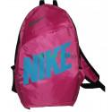 Рюкзак городской Nike (Найк) красный с синей надписью 40х27 см