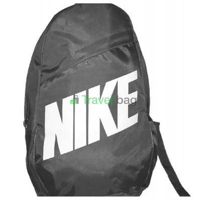 Рюкзак городской Nike (Найк) серый с белой надписью 40х27 см