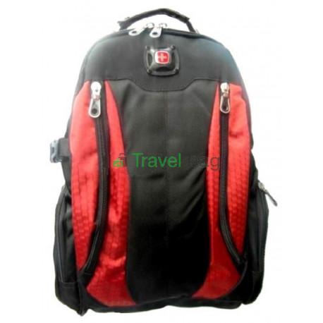 Рюкзак спортивный SWISSGEAR 55327 30л 44x32x17 черно-оранжевый
