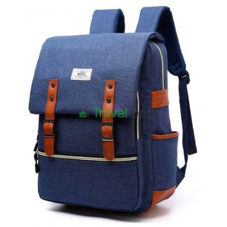 Рюкзак городской JIULONG 40х30 см синий