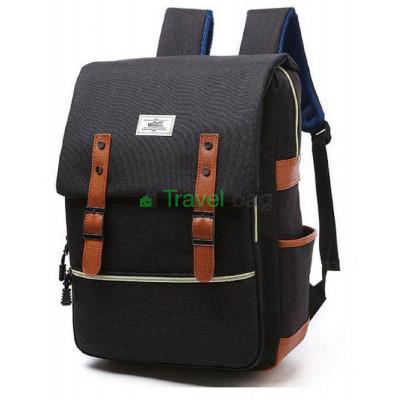 Рюкзак городской JIULONG 40х30 см черный