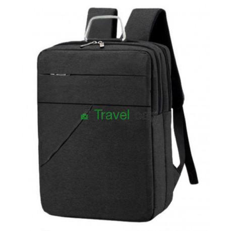 Рюкзак городской для ноутбука 42х29 см черный
