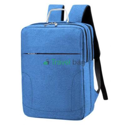 Рюкзак городской для ноутбука 42х29 см синий