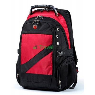 Рюкзак спортивный SWISSGEAR 7650R 30л 44x32x17 черно-красный