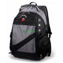 Рюкзак спортивный SWISSGEAR 7650G 30л 44x32x17 черно-серый