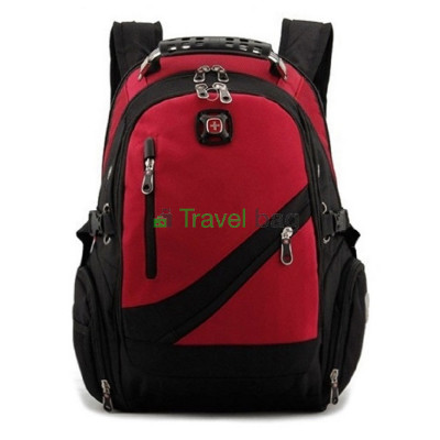 Рюкзак спортивный SWISSGEAR 558815 15л 38x24x15 черно-красный