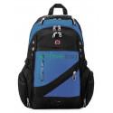 Рюкзак спортивный SWISSGEAR 558815-1 15л 38x24x15 черно-синий