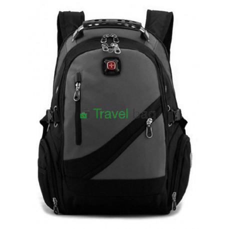 Рюкзак спортивный SWISSGEAR 558815-2 15л 38x24x15 черно-серый
