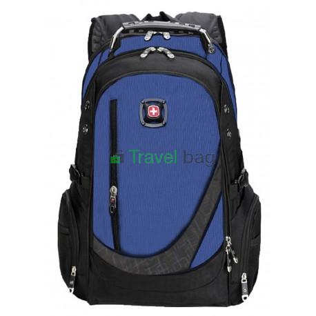 Рюкзак спортивный SWISSGEAR 557658C 30л 48x33x17 черно-синий