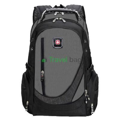 Рюкзак спортивный SWISSGEAR 557658G 30л 48x33x17 черно-серый