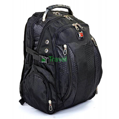 Рюкзак спортивный SWISSGEAR 7620-2 30л 44x32x13 черный
