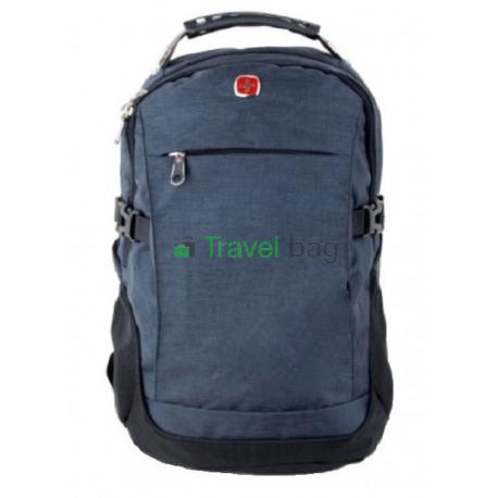 Рюкзак спортивный SWISSGEAR 557699G 30л 44x32x17 черно-синий