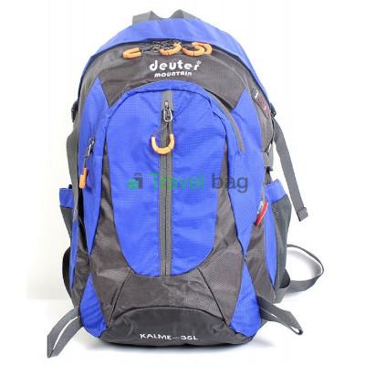Рюкзак городской DEUTER Mountain 35 л серо-синий