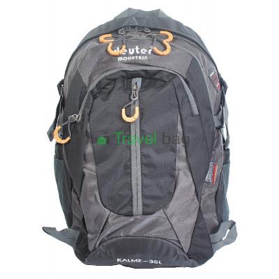 Рюкзак городской DEUTER Mountain 35 л серо-черный
