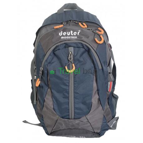 Рюкзак городской DEUTER Mountain 35 л серо-темно-синий