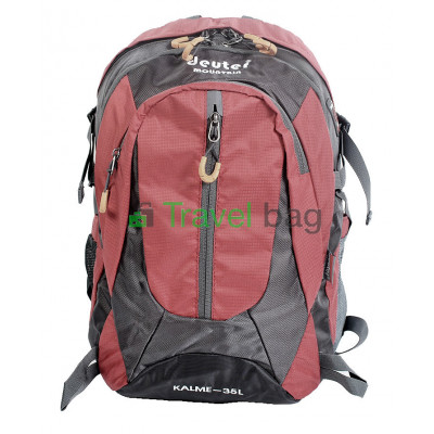 Рюкзак городской DEUTER Mountain 35 л серо-красный