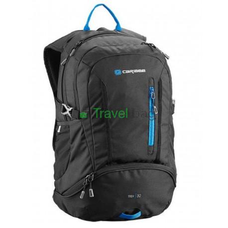 Рюкзак туристический Caribee Trek 32 нижний вход черный