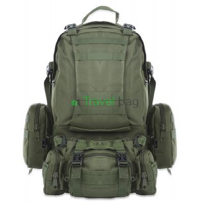 Рюкзак тактический 55 л оливковый