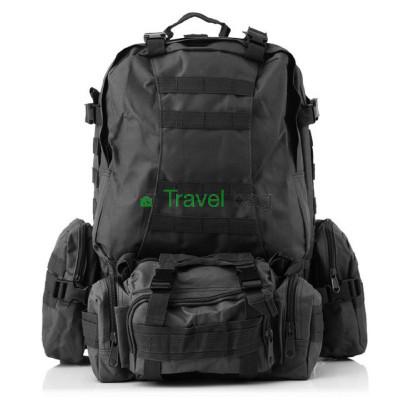 Рюкзак тактический 55 л черный