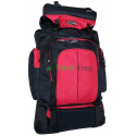 Рюкзак туристический 50 л Sports fashion 60х38х20 черно-красный
