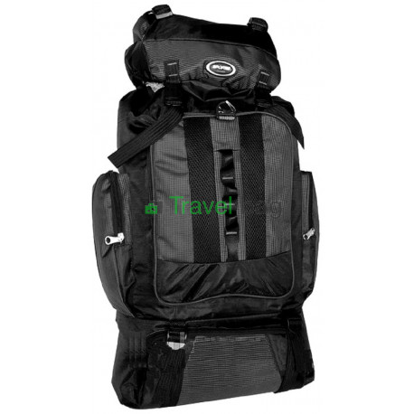 Рюкзак туристический 50 л Sports fashion 60х38х20 черный