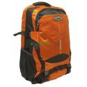 Рюкзак туристический 30 л JDXFENG 52х32х17 серо-оранжевый